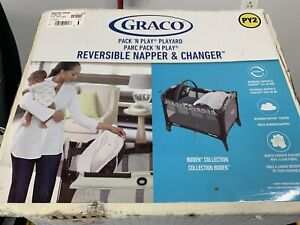 Graco playpen and changer