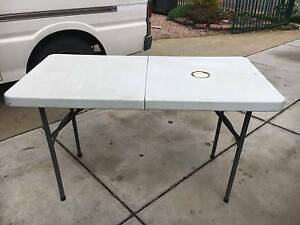 folding camping table Paralowie Salisbury Area Preview