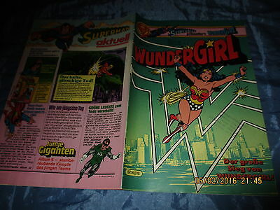 WUNDERGIRL , August 1983 , # 8 , ehapa Comics , DC Wonder Woman Comic / Kult