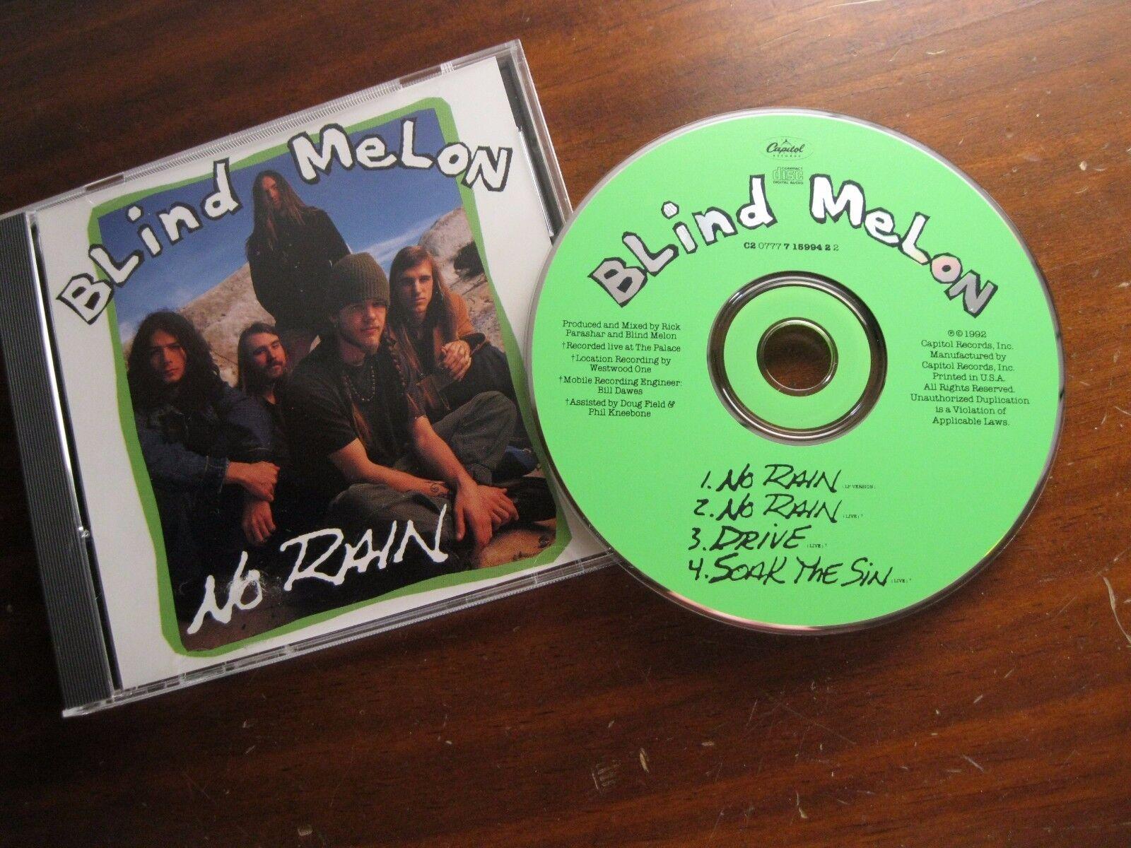No Rain [CD Single] [Maxi Single] by Blind Melon (CD, Aug-1993, Capitol/EMI Reco
