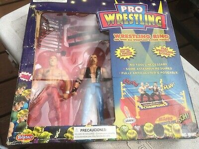 Wwf Wwe All Pro Wrestling Ring # 9999 B By Polyfest Toy Rare