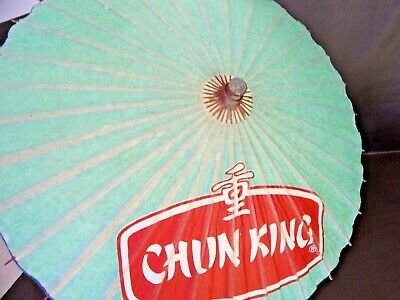 Vintage Chun King Parasol Advertising Umbrella