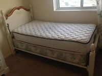 FREE bed frame, box spring & mattress