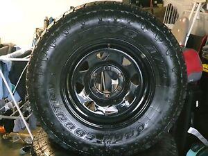 Toyo tyres 265/70R16 on steel wheels