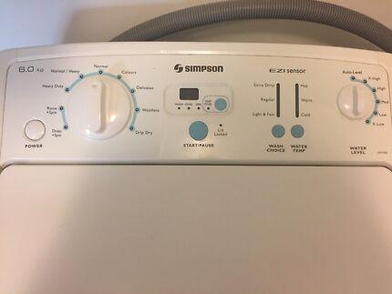Near Brand New Simpson Large Washing Machine
