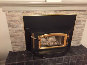 Regency I2400 insert fireplace/ poêle combustion lente
