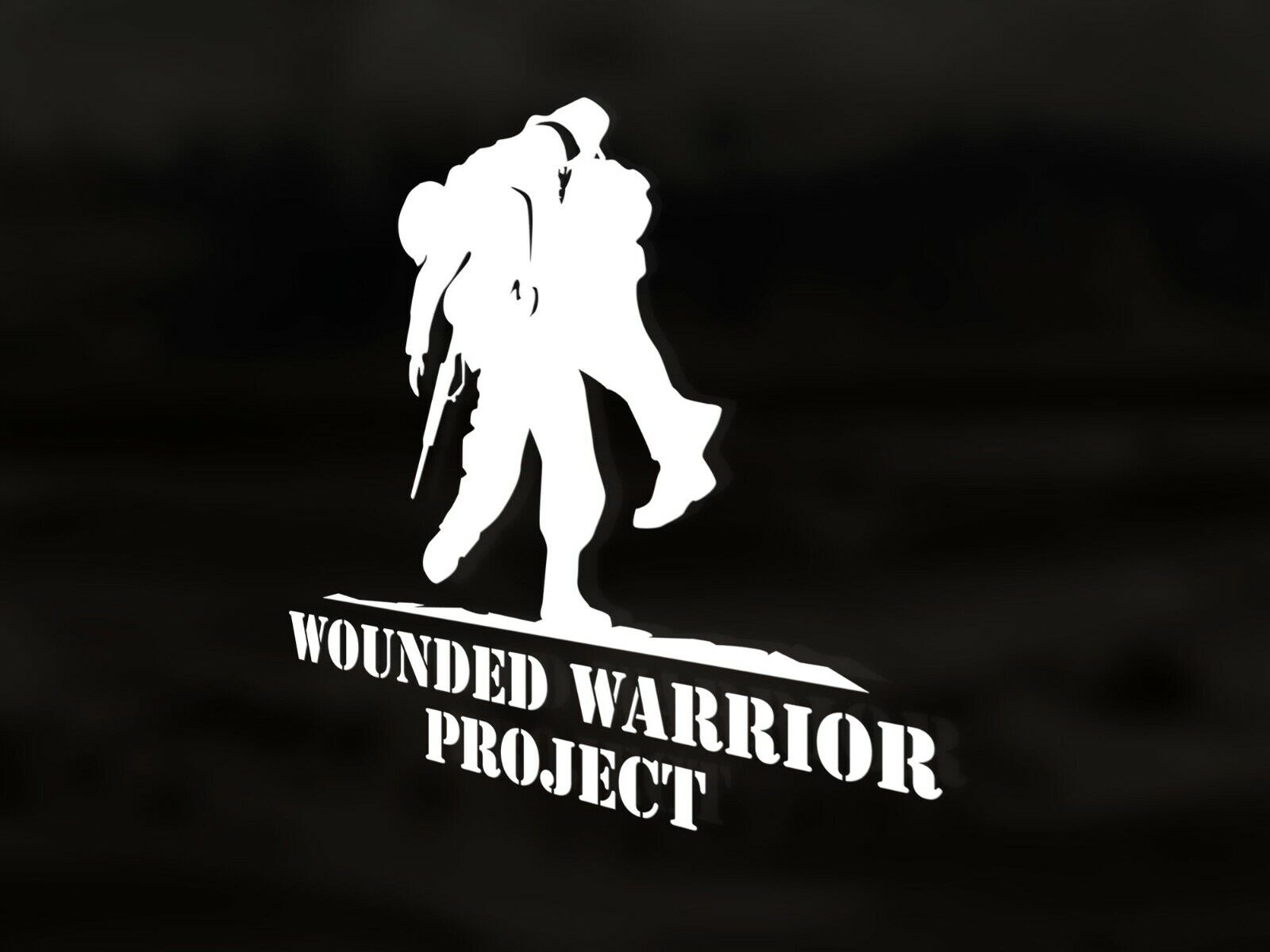 Home Decoration - Wounded Warrior Project Vinyl Decal Sticker