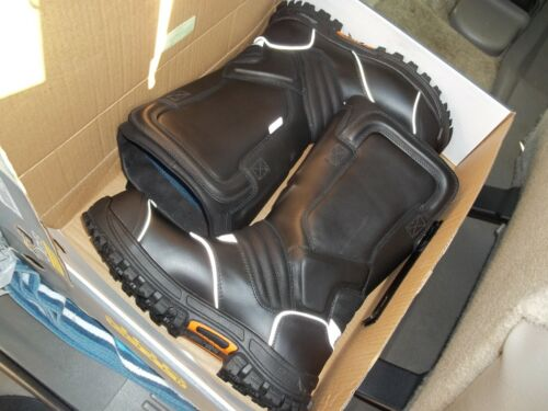"Men's Thorogood 14"" Structural Firefighter Boots - USA Size 11.5 W    NEW IN BOX"