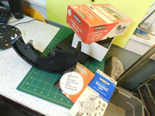 "Vtg. 8"" Craftsman 9-29523 Molding & Dado Guard for Radio Arm Saws"
