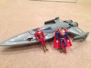 Justice League Jet- Flash & Superman