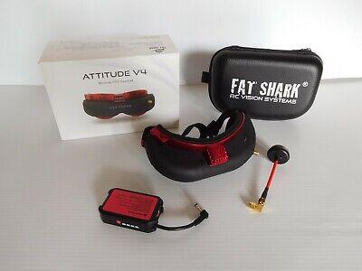 Fatshark Attitude v4 Fpv Goggles Anniversary Edition- Great Condition