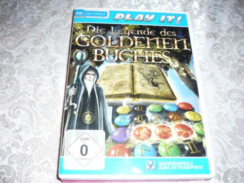 Die Legende des goldenen Buches (PC, 2011, DVD-Box)