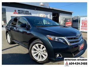 2014 Toyota Venza Limited AWD; Local BC vehicle! New tires!