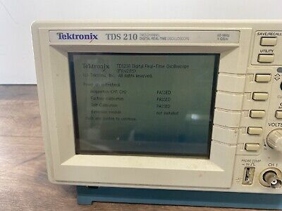 Tektronix Tds 210 Two-channel Digital Real-time Oscilloscope 60mhz 1gss