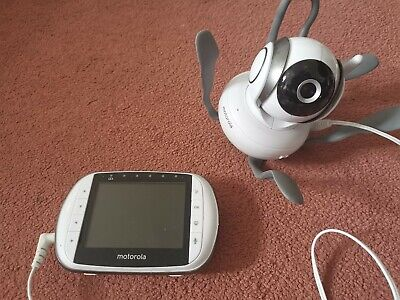 "Motorola 3.5"" Video Baby Monitor MBP36S- good working condition"