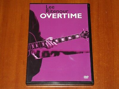 Lee Ritenour Overtime Live 2X Dvd 5 1 Dd Enterprise Studios Los Angeles 2004 New