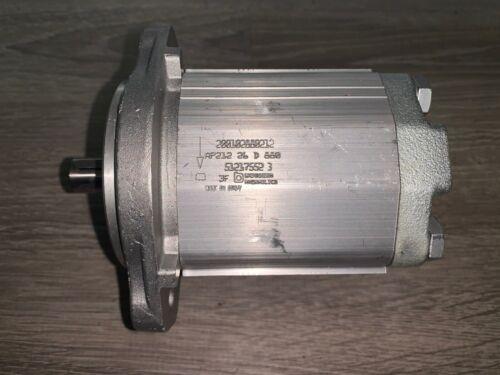 Brand New!!! Bucher Hydraulics Cast Iron Gear Pump (#AP212/26 D 880)