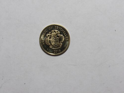 Seychelles Coin - 2016 5 Cents - Brilliant Uncirculated