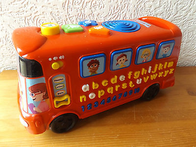 VTECH PLAYTIME ALPHABET BUS WITH MUSIC AND SOUNDS