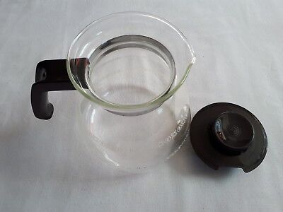 Melitta 8 Cups Glass Replacement Coffee Pot Carafe Corning Brand Vintage