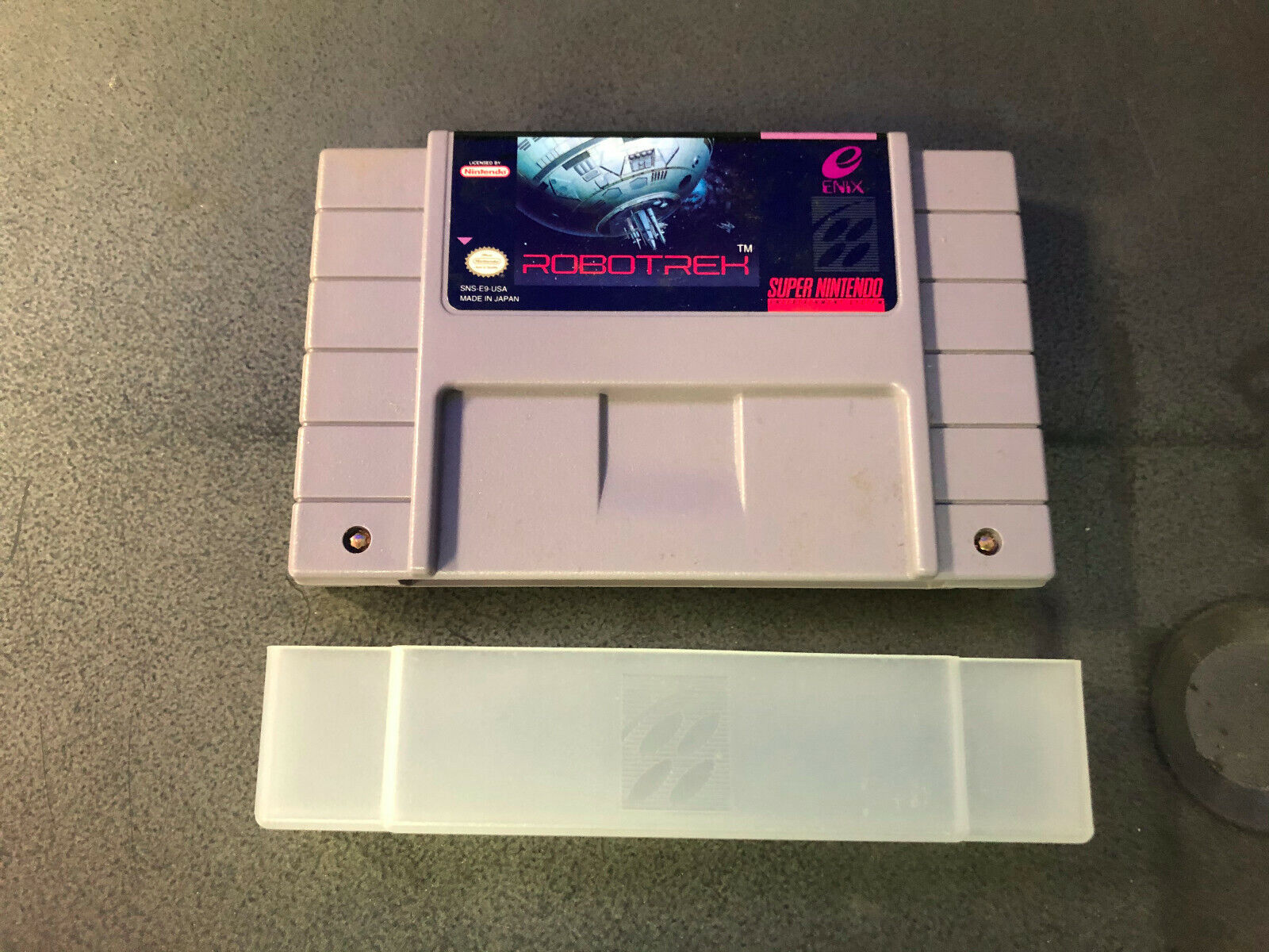Robotrek Super Nintendo Entertainment System SNES, 1994 Authentic RARE Tested - $91.00