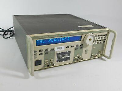 Wavetek Sg-1288g 288 Synthesized Function Generator Powers Up Needs Cal