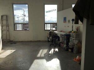 Art Space, Studio, Workshop, high ceilings, bright