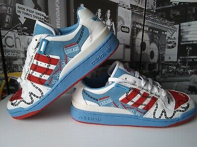 Forum Leather (Adidas Forum Chicago Leather Lo RS 25th 677056 Size US 10.5  Very Rare New 2008  )