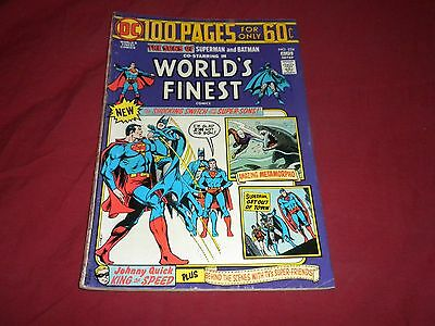World's Finest Comics #224 (Jul-Aug 1974, DC) bronze age 5.0/vg/fn comic!!!!