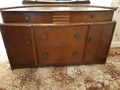 Vintage Stag Dressing Table