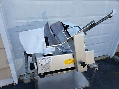 Bizerba Se12us Gravity Feed Manual Cheese Deli Meat Slicer Local Pick-up Only
