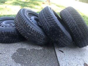 Winter Tires - 215/65R17 with rims.