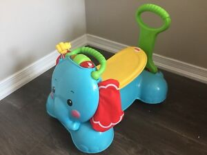 Fisher-Price 3-in-1, Bounce, Stride and Ride Elephant