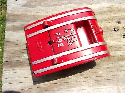 Est Edwards Siga-270 Intelligent Single Action Fire Alarm Pull Station Signal