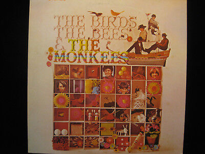 THE MONKEES THE BIRDS THE BEES AND THE MONKEES JAPANESE IMPORT LP, W/ INSERT
