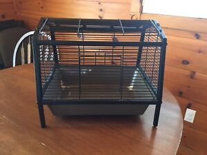 Hamster Cage, Silent Hamster Wheel, Lots of Bedding, Accessories