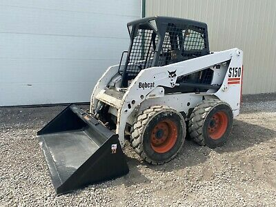 2004 Bobcat S150 Skid Steer Orops Handfoot Controls 49 Hp Pre-emissions