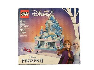 New/Unopened!! LEGO Disney Frozen 2 Elsa's Jewelry Box Creation. A Treasure!!