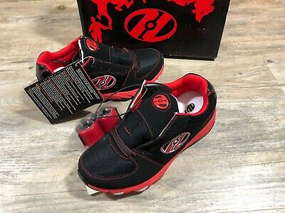 HEELYS Skate Shoes Juke Youth Size 3 Black/Red 7958 New in Box!