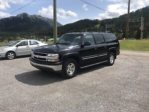 2006 CHEV SUBURBAN LS2  1500 4x4 with LEATHER