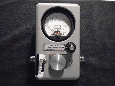 Bird Electronics Model 4410 Rf Thruline Directional Wattmeter New Condition