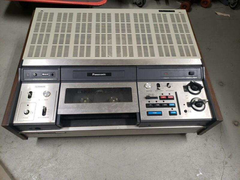 Pioneer U Vision Vcr Video Tape Recorder Player Vintage NV 9300