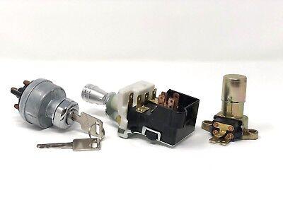 Street Rat Rod GM Switch Kit Dimmer Switch + Headlight w/ Knob + Ignition Switch