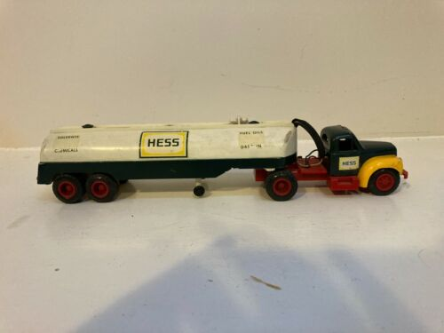VINTAGE 1964 MARX #1 HESS OIL TANKER FUEL TRUCK HOLY GRAIL FOR HESS COLLECTORS