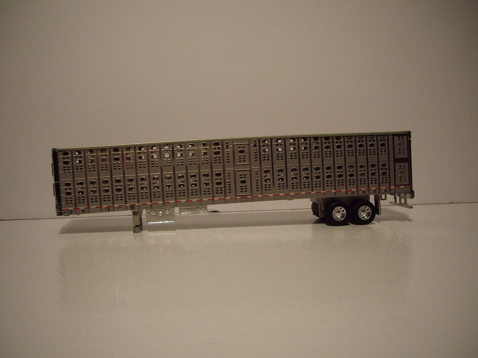 DCP FIRST GEAR 1/64 WILSON SILVER FORWARD TANDEM AXLE PSAL LIVESTOCK  1