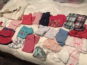Lot of girls summer clothes. Size 2t.