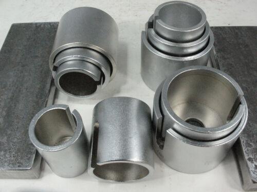 NEW 12 to 30 ton Bushing Bearing Install Remove 10 DEEP DRIVER Set+ Press Plates