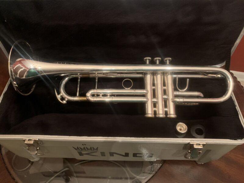 King SB12 System Blue Trumpet