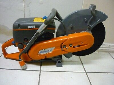 Husqvarna K760 14 Concrete Cutoff Saw With New Plate Water System