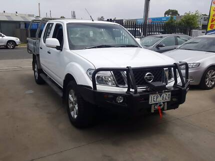 2014 Nissan Navara ST Duel Cab Tray Ute TURBO DIESEL 4X4 LOW KMS Williamstown North Hobsons Bay Area Preview